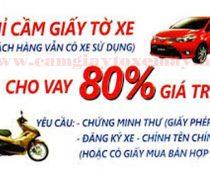 cam giay to xe may gia cao
