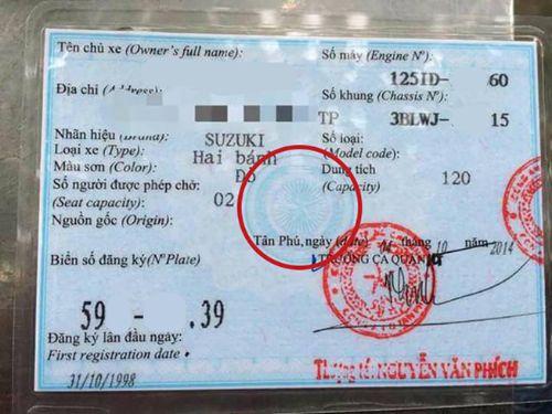 Ảnh minh họa: Nhiều hành vi cầm xe giấy tờ giả bị công an phát hiện
