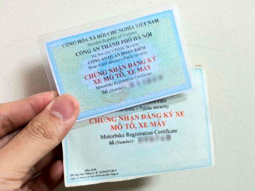 Cầm giấy tờ xe là một giao dịch được pháp luật cho phép