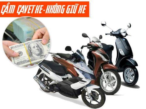 Ảnh: Công ty tài chính Song Hùng nhận cầm giấy tờ xe máy đa dạng dòng xe